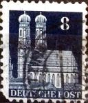 sello : Europa : Alemania : Intercambio mas 0,20 usd 8 pf. 1948