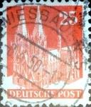 Sellos del Mundo : Europa : Alemania : Intercambio mas 0,20 usd 25 pf. 1948