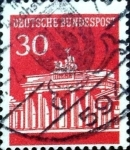Stamps Germany -  Intercambio 0,20 usd 30 pf. 1967