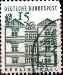 Stamps Germany -  Intercambio 0,20 usd 15 pf. 1965
