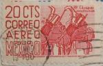 Stamps Mexico -  chiapas arqueologia