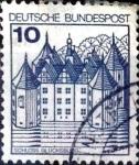 Sellos de Europa - Alemania -  Intercambio 0,20 usd 10 pf. 1977