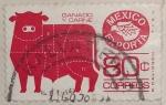 Stamps Mexico -  ganado y carne