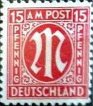 Sellos de Europa - Alemania -  Intercambio jxi 0,20 usd 15 pf. 1945