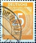 Sellos de Europa - Alemania -  Intercambio 0,60 usd 25 pf. 1946