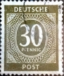 Stamps Germany -  Intercambio 0,20 usd 30 pf. 1946
