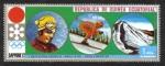 Stamps Equatorial Guinea -  Ganadores Olímpicos de Invierno de Grenoble