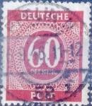 Stamps Germany -  Intercambio ma2s 0,20 usd 60 pf. 1946