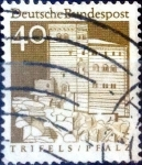 Sellos del Mundo : Europa : Alemania : Intercambio mas 0,30 usd 40 pf. 1967