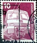 Stamps Germany -  Intercambio 0,20 usd  10 pf. 1975