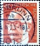 Sellos de Europa - Alemania -  Intercambio 0,20 usd  40 pf. 1970