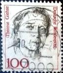 Sellos de Europa - Alemania -  Intercambio 0,25 usd  100 pf. 1986