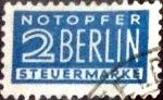 Sellos de Europa - Alemania -  Intercambio 0,20 usd  2 pf. 1949