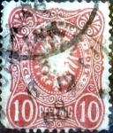 Stamps Germany -  Intercambio 0,75 usd 10 pf. 1880