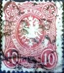 sello : Europa : Alemania : Intercambio mas 0,75 usd 10 pf. 1880