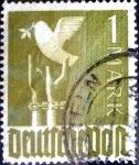 Sellos de Europa - Alemania -  Intercambio 0,30 usd 1 mark. 1947
