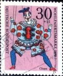 Sellos de Europa - Alemania -  Intercambio nfxb 0,35 usd 30+15 pf. 1970