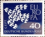 Stamps : Europe : Germany :  40 pf. 1961