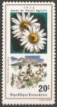 Stamps Rwanda -  año del trabajo agricola  y plantacion de pyrethre