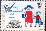 Stamps : Europe : Andorra :  Intercambio 0,90 usd 19 pta. 1979