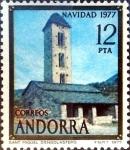 Sellos de Europa - Andorra -  Intercambio crxf2 1,25 usd 12 pta. 1977