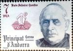 Sellos del Mundo : Europa : Andorra : Intercambio 0,30 usd 7 pta. 1981