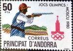 Sellos de Europa - Andorra -  Intercambio fdxa 0,90 usd 50 pta. 1980