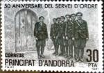 Sellos del Mundo : Europa : Andorra : Intercambio 0,90 usd 30 pta. 1981