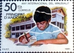 Sellos de Europa - Andorra -  Intercambio crxf2 1,25 usd 50 pta. 1981