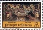 Stamps : Europe : Andorra :  Intercambio 0,30 usd 12 pta. 1981