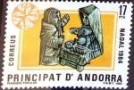 Sellos del Mundo : Europa : Andorra : Intercambio 0,55 usd 17 pta. 1984