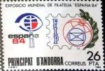 Sellos del Mundo : Europa : Andorra : Intercambio 0,55 usd 26 pta. 1980