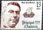 Stamps : Europe : Andorra :  Intercambio 0,25 usd 13 pta. 1979