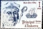 Sellos de Europa - Andorra -  Intercambio fdxa 0,25 usd 1 pta. 1979