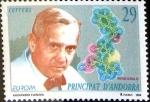 Stamps : Europe : Andorra :  Intercambio 0,55 usd 29 pta. 1994