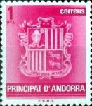 Sellos del Mundo : Europa : Andorra : Intercambio 0,20 usd 1 pta. 1982