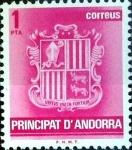 Sellos del Mundo : Europa : Andorra : Intercambio fdxa 0,20 usd 1 pta. 1982