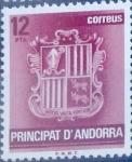 Sellos del Mundo : Europa : Andorra : Intercambio 0,20 usd 12 pta. 1982