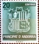 Sellos del Mundo : Europa : Andorra : Intercambio 0,40 usd 20 pta. 1982