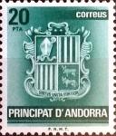 Sellos de Europa - Andorra -  Intercambio fdxa 0,40 usd 20 pta. 1982