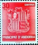 Sellos del Mundo : Europa : Andorra : Intercambio 0,50 usd 30 pta. 1982