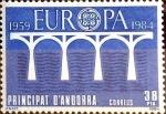 Sellos de Europa - Andorra -  Intercambio crxf2 0,90 usd 38 pta. 1984