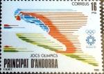 Sellos del Mundo : Europa : Andorra : Intercambio 0,90 usd 16 pta. 1984