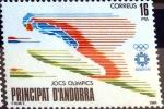 Sellos de Europa - Andorra -  Intercambio fdxa 0,90 usd 16 pta. 1984