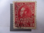 Stamps Canada -  King george V. - Serie:War Tax.(Impuesto de Guerra)