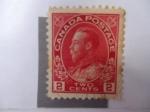 Stamps Canada -  King George V. (Scott/Ca:106)
