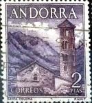 Sellos del Mundo : Europa : Andorra : Intercambio 0,50 usd 2 pta. 1963