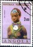 Stamps Angola -  Intercambio crxf2 0,20 usd 2 esc. 1961