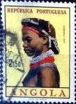 Stamps : Africa : Angola :  Intercambio agm2 0,20 usd 2,5 esc. 1961