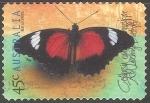 Sellos de Oceania - Australia -  Red Lacewing
